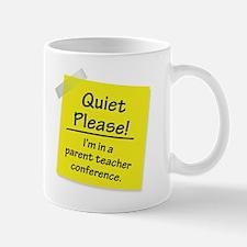 Quiet Please! Mugs