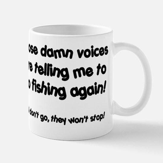 Fishing voices Mug