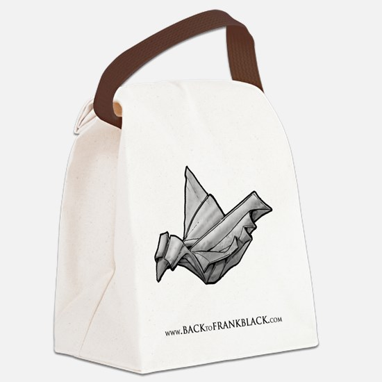 Paper Dove Canvas Lunch Bag