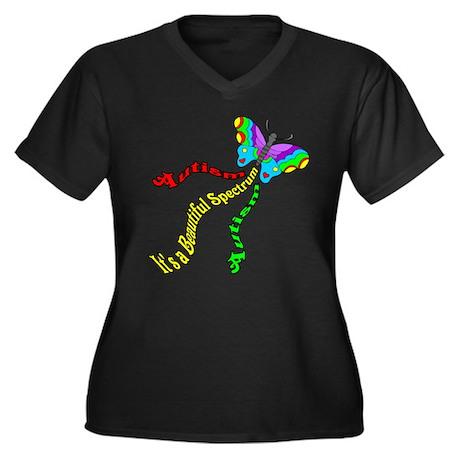 Autism It's a Beautiful Spectrum Women's Plus Size