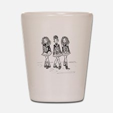 3 Dancers Shot Glass