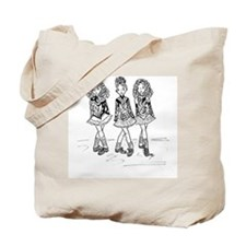 3 Dancers Tote Bag