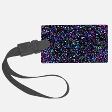 Glitter Graphic Background Luggage Tag