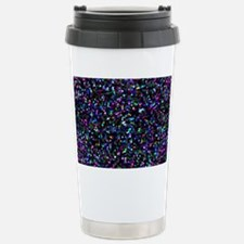 Glitter Graphic Backgro Stainless Steel Travel Mug
