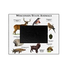Wisconsin State Animals Picture Frame