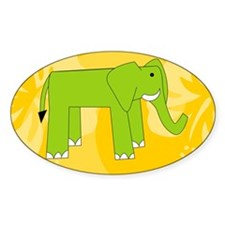 Elephant 35X21 Wall Decal Decal