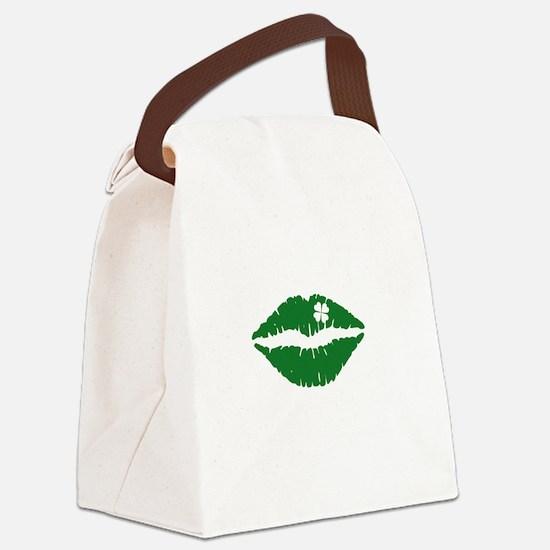 kissMeDeliciousSP1B Canvas Lunch Bag