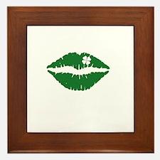 kissMeDeliciousSP1B Framed Tile