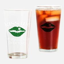 kissMeDeliciousSP1B Drinking Glass