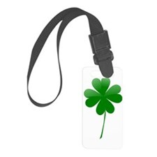 Shamrock Luggage Tag