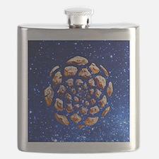 Pinyon Pattern round Flask