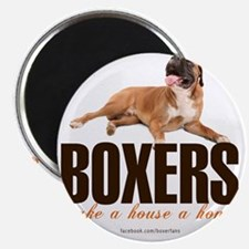Boxers Make a House a Home Magnet
