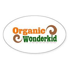 Organic Wonderkid Oval Decal