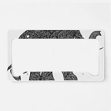 Elephant Teen shirt License Plate Holder