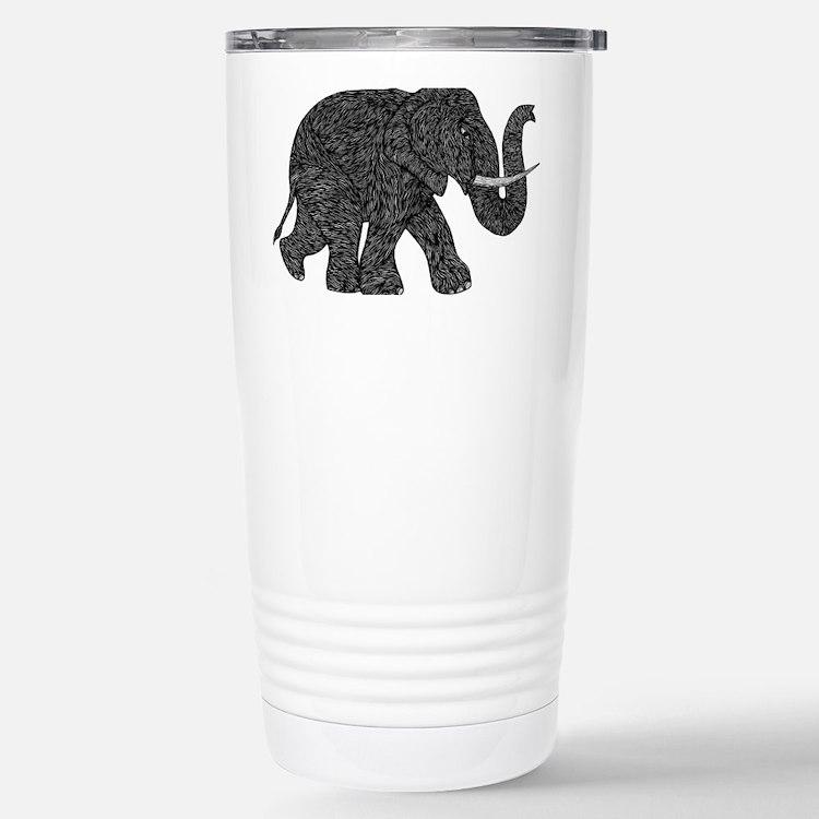 Elephant Teen shirt Travel Mug