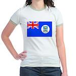 Falkland Islands Women's Ringer T-Shirt