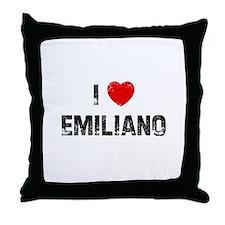 I * Emiliano Throw Pillow