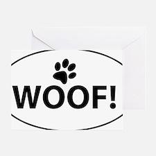Woof! Greeting Card