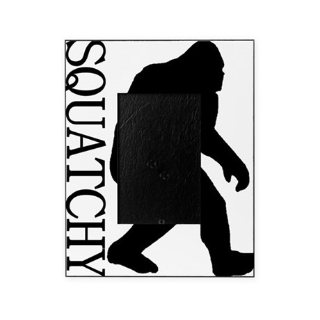 silhouette squatch black Picture Frame
