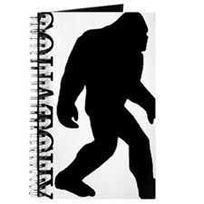 silhouette squatch black Journal