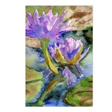 PUrple Lily Postcards (Package of 8)