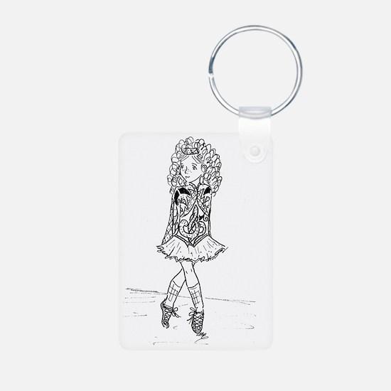McGees Slip Jig Aluminum Photo Keychain