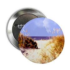 """A Peek Through the Dunes to the Ocean 2.25"""" Button"""