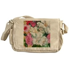 Pretty Peony Messenger Bag
