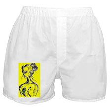 yellow Boxer Shorts