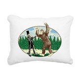 Bigfoot Rectangle Canvas Pillows