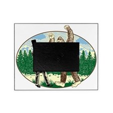 abe lincoln squatch Picture Frame
