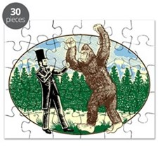 abe lincoln squatch Puzzle