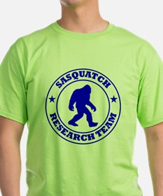 sasquatch research team blue T-Shirt