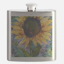 Sunflower Sunday Flask