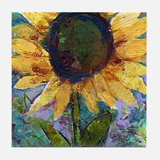 Sunflower Sunday Tile Coaster