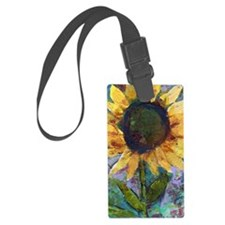 Sunflower Sunday Luggage Tag