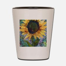 Sunflower Sunday Shot Glass