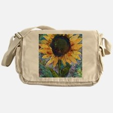 Sunflower Sunday Messenger Bag