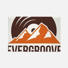 Evergroove Logo PNG Rectangle Magnet