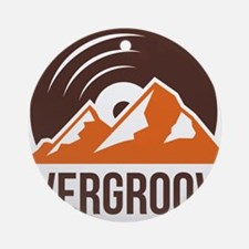 Evergroove Logo PNG Round Ornament