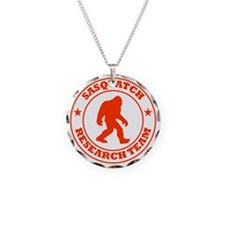 sasquatch research team red Necklace