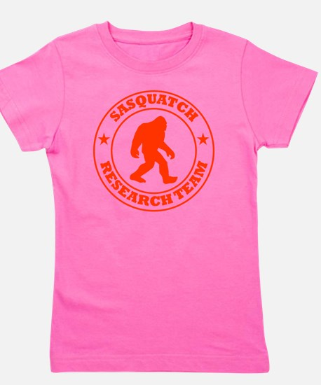 sasquatch research team red Girl's Tee