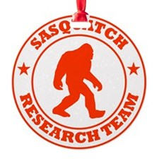 sasquatch research team red Ornament