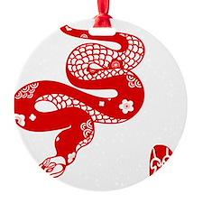 Asian Snake Ornament
