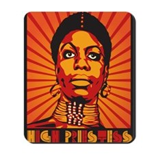 High Priestess of Soul Poster Mousepad