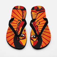 High Priestess of Soul Poster Flip Flops