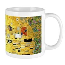 Klimt Kiss Wraparound Small Mug