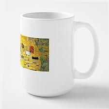 Klimt Kiss Wraparound Ceramic Mugs
