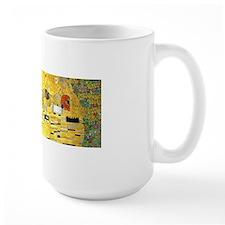 Klimt Kiss Wraparound Mug
