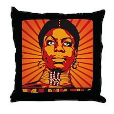High Priestess of Soul Framed Print Throw Pillow